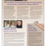 4-page newspaper insert