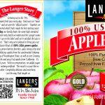 Langers Borton label
