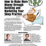Practice Builders, Sleep ad
